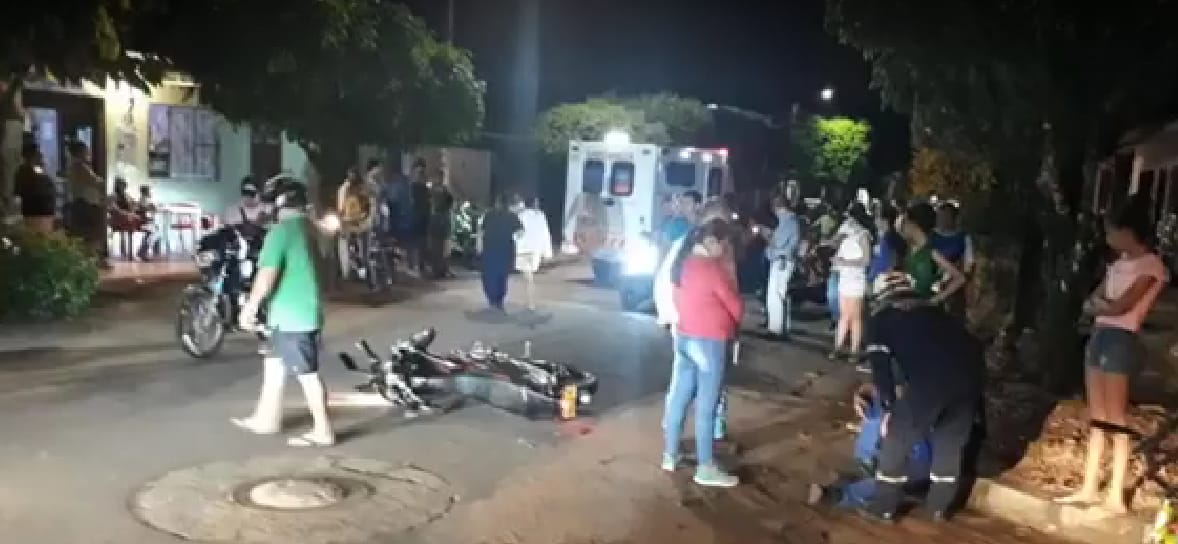 Muere una persona en colisión de dos motos