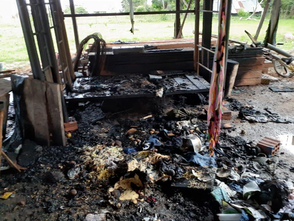 Incendio arrasa vivienda en Centro Gaitán jurisdicción de Paz de Ariporo