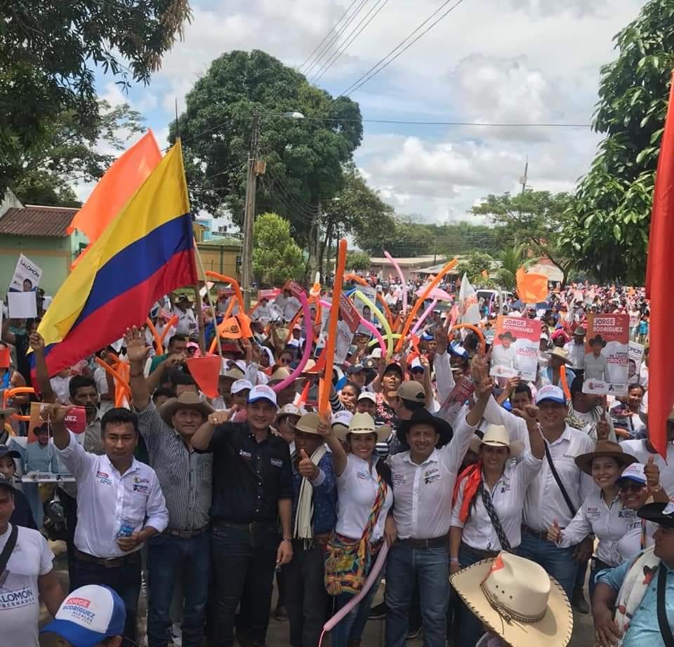 Espectacular cierre de campaña de Jorge Rodríguez en Orocué