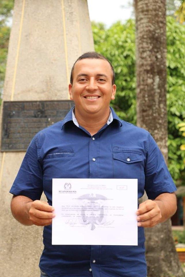 Tele Wosbon Amaya Zorro alcalde electo de Tauramena