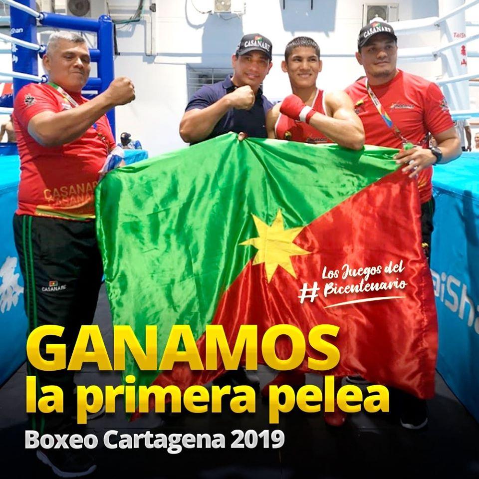 Alexander Javier Queralez Molina hace historia en Cartagena en Boxeo