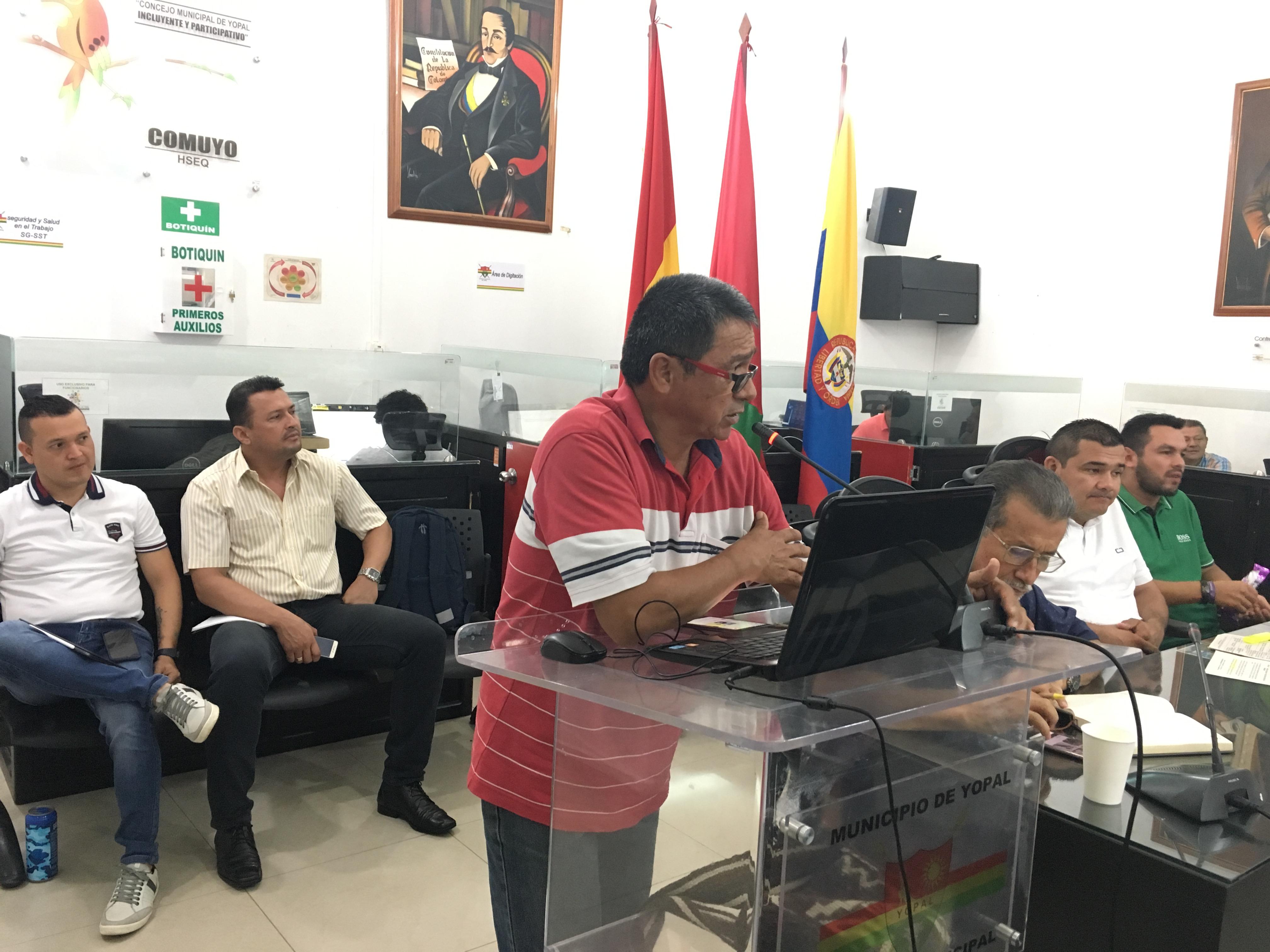 Aprobado presupuesto 2020 para la Alcaldía de Yopal, por el Concejo local