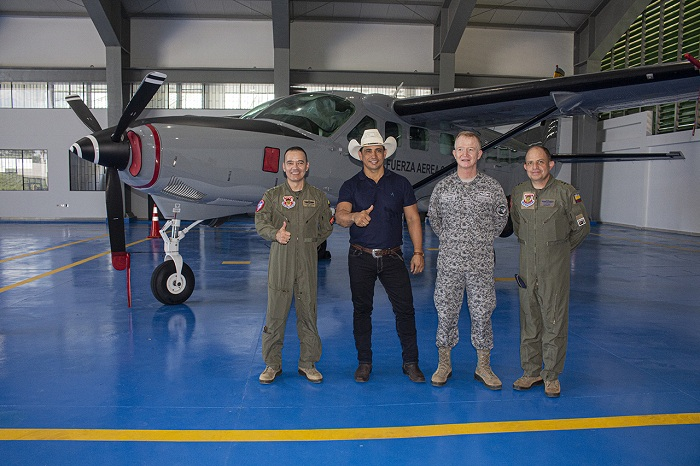 Con aportes de la gobernación se entrega Hangar dos del Grupo Aéreo del Casanare