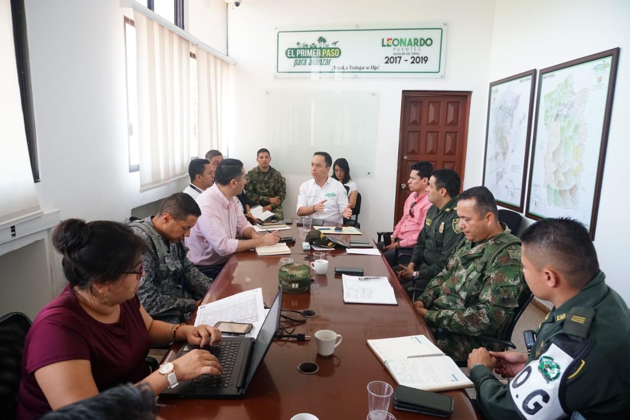 Medidas tomadas  de Seguridad para el 21 de noviembre en Yopal