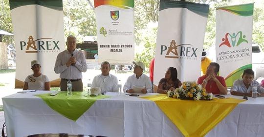 Parex entrega equipos para dotación de UPTC en Aguazul